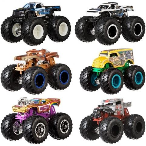 Набір із 2 машинок-позашляховиків серії «Monster Trucks» Hot Wheels (в ас.) рис. 1
