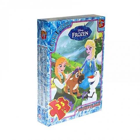 Пазлы детские «Холодное сердце» 35 элементов G-Toys (FR008)