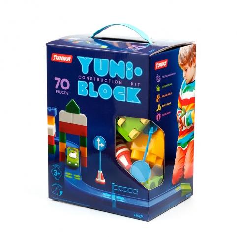 """Конструктор дитячий """"YUNI-BLOK"""" 70 (коробка) рис. 1"""