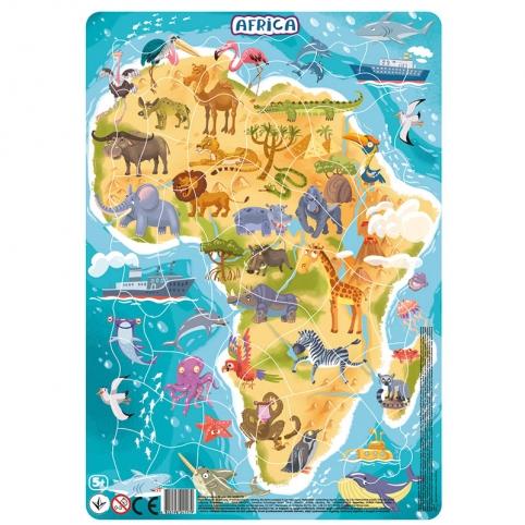 Пазл с рамкой DoDo Африка (21*30*0,3см) R300175