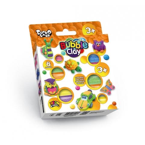 """Креативна творчість """"Bubble Clay"""" 8 кольорів укр (20) рис. 1"""