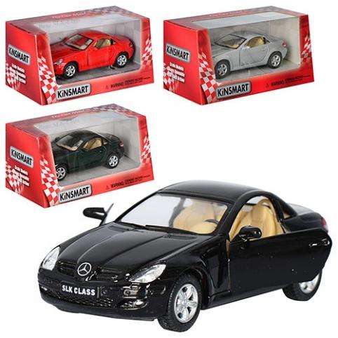 Машинка KT 5095 W (24шт) металл, инер-я, 12,5см, 1:32, 4 цвета, в кор-ке, 16-7,5-8см рис. 1