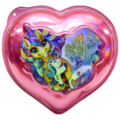 """Креативное творчество """"Pony Love"""" укр BPS-01-02U ДТ-ОО-09383"""