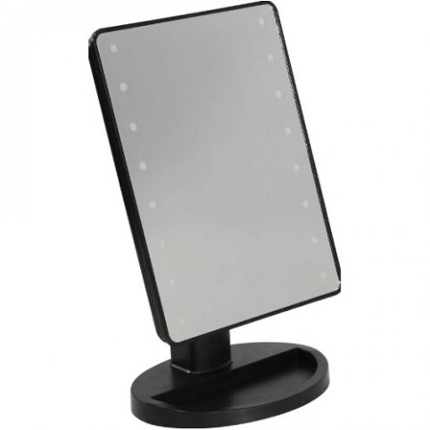 "Зеркало для макияжа с led-подсветкой ""Magic"" 17*12*26см R86667 (36шт) рис. 1"