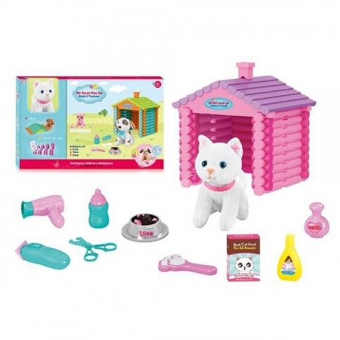 Тварина T886-1 перукар, кіт, будиночок