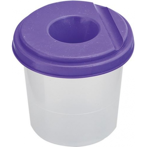 Стакан -непроливайка, фіолетовий 6шт в упак./10/60/ рис. 1