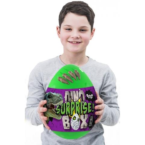 """Креативна творчість """"Dino Surprise Box"""" укр рис. 1"""