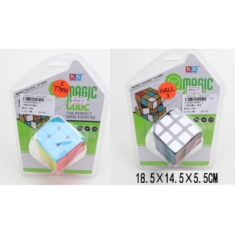 Кубик-логика 3*3,2 вида,на блистере 18,5*14,5*5,5см /144-2/ рис. 1