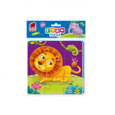"Фомові пазли Foam puzzles 2in1 ""Zoo"" RK6580-05"