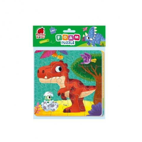 "Foam puzzles 2in1 ""Dinozaurs"" RK6580-06"