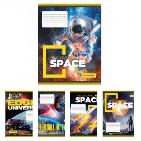 А5/12 лин. YES Space, тетрадь учен.