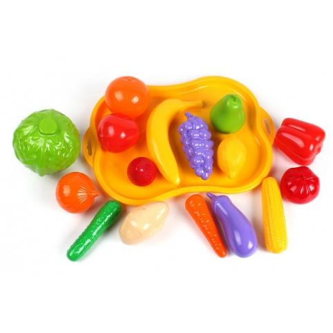 """Іграшка """"Набір фруктів та овочів ТехноК"""", арт.5347 рис. 1"""