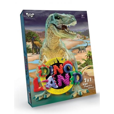 """Креативна творчість """"Dino Land"""" 7 в 1 укр рис. 1"""