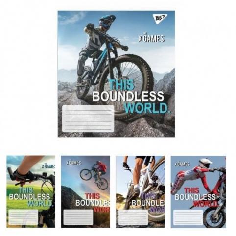 А5/48 лін. YES The boundless world, зошит для записів