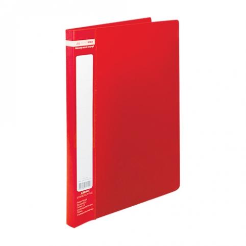 /Папка A4 зі швидкошивачем, JOBMAX, червоний рис. 1
