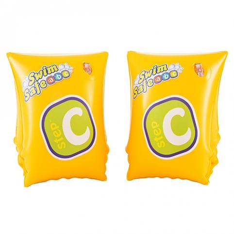 BW Нарукавники 32033 (36шт) желтые,25-15см,возд камеры 2шт,3-6лет,в кор-ке,19-12-3см рис. 1