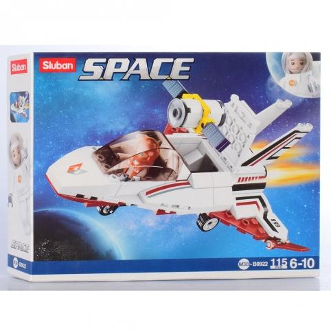 """Конструктор SLUBAN M38-B0922 """"Space"""": Зореліт, 115 дет. рис. 1"""