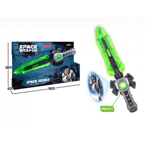 Меч іграшковий SPACE, зі світлом, працює від батарей - фото 1
