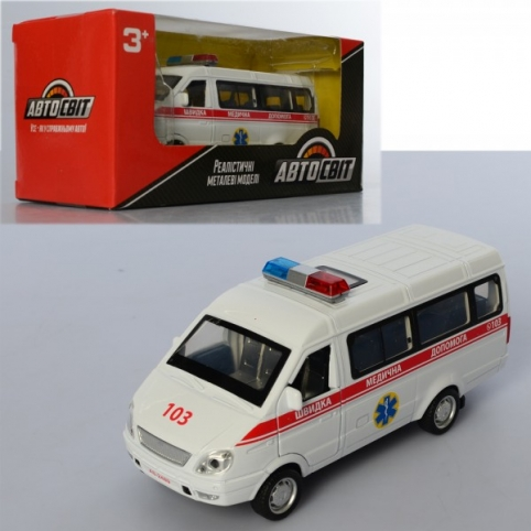 Автомобиль скорой помощи AS-2489