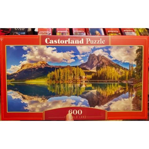 """Пазлы Castorland """"Озеро Эмералд""""  600 деталей, размер картинки: 68*30см (B-060092)"""