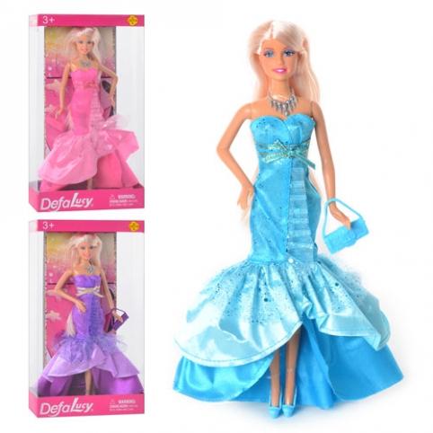Кукла 8240 (24шт) сумочка, 3 цвета, в кор-ке, 33-18-5,5см рис. 1