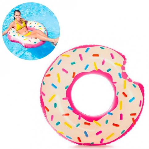 Круг 56265 (12шт) Пончик, 107-99см, ремкомплект, 9+, в кор-ке, рис. 1