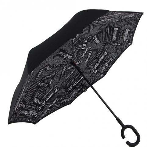 Зонт обратного сложения 110см 8сп MH-2713-3 (50шт) рис. 1