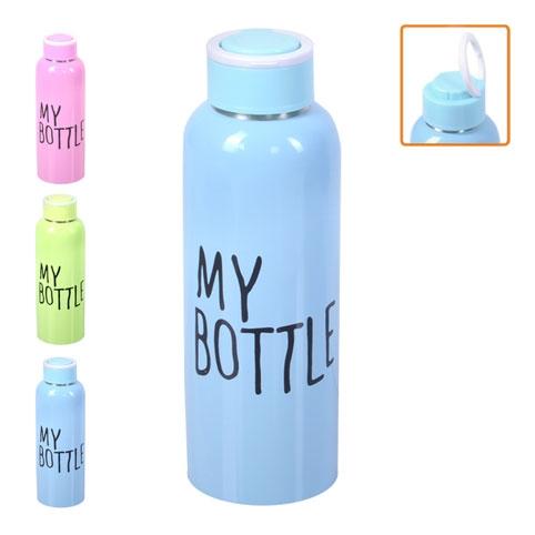 "Бутылка-поилка спортивная ""My bottle"" 650мл J00195/R82137 (60шт) рис. 1"