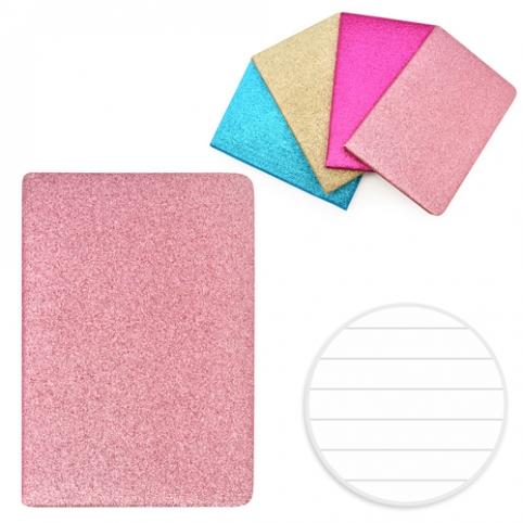 Блокнот с блестками и присыпкой А5 80л ST01215 (100шт) рис. 1