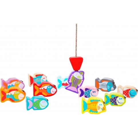 Деревянная игрушка Cubika Рыбалка 14 деталей (13739) (4823056513739) рис. 0