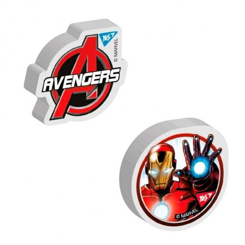 "Ластик фігурний YES ""Avengers"", 2 диз. мікс рис. 1"