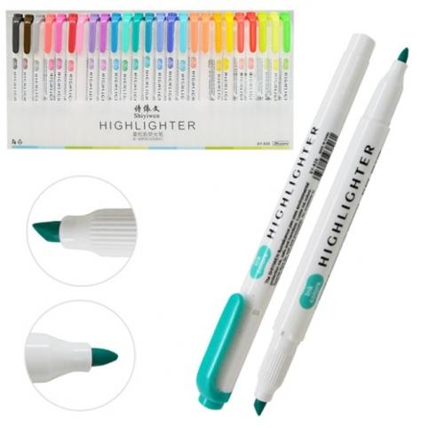 Набір маркерів текстовиделітелі 25кол ST02337