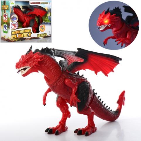 Динозавр RS6169A (20шт) 50см,звук,свет,ходит,двиг.головой,машет крыльями,на бат-ке,в кор,41-31-13см рис. 1