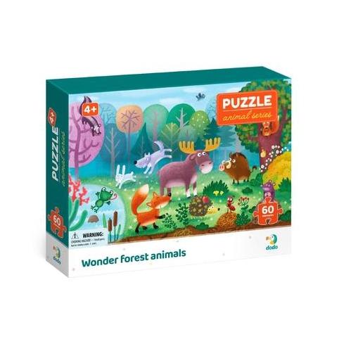 Пазл Dodo Чудо-звери в лесу 300375