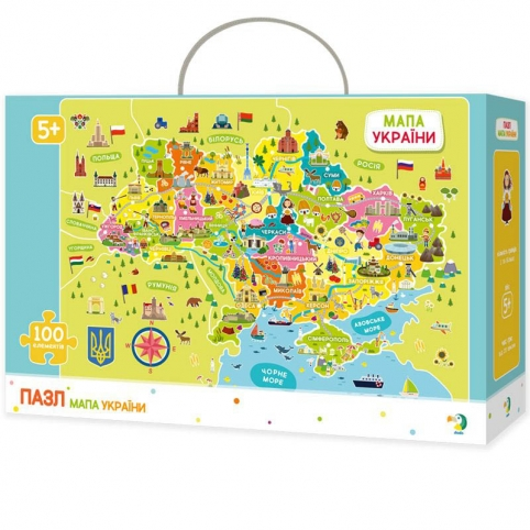 Пазл DoDo Карта України (300109)