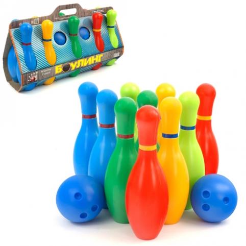 Детская игра кегли MASTERPLAY 1-002 рис. 1