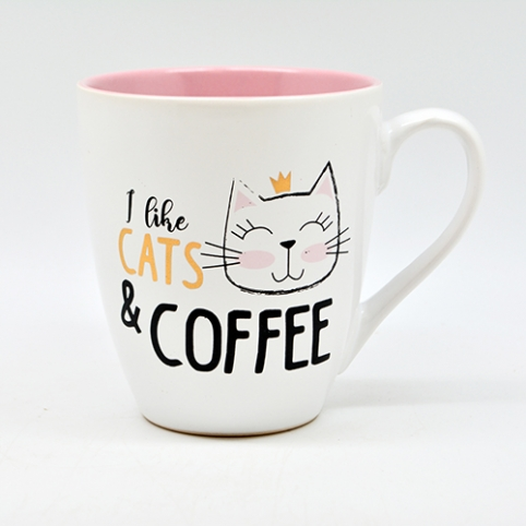 "Чашка ""I love cats&coffee"" 550мл 10320 (24шт) рис. 1"