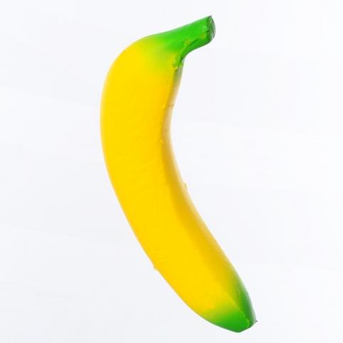 Игрушка MS 3247 (120шт) сквиши, антистресс, банан, в кульке, 16,5-8-3,5см рис. 1