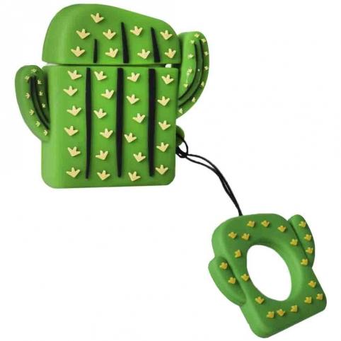 Airpods case emoji series (Cactus) рис. 1
