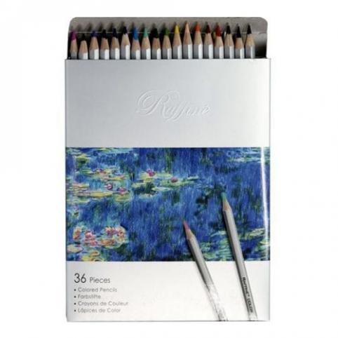 """Олівці 36 кольорів шестигранні,Raffine,7100-36CB,ТМ""""Marco"""" рис. 1"""