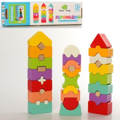 Дерев'яна іграшка Баланс MD 2883 блоки