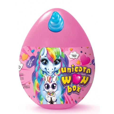 """Креативна творчість """"Unicorn WOW Box"""" укр рис. 1"""