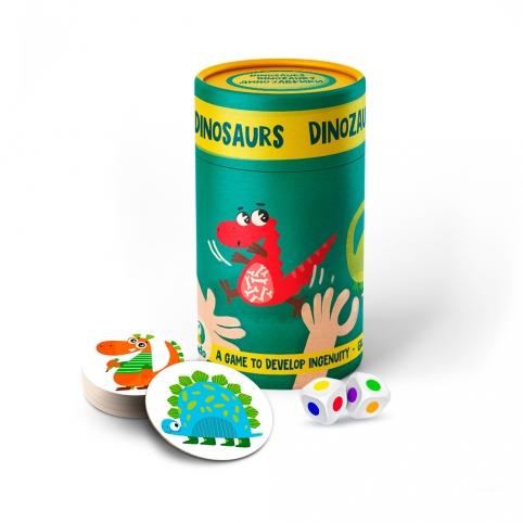 300207 Гра настільна Динозаври рис. 1