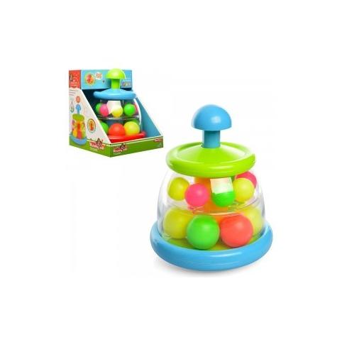 Гра 324 дзига, 2 яруси, пластмасові кульки, кор., 18,5-18,5-22 см