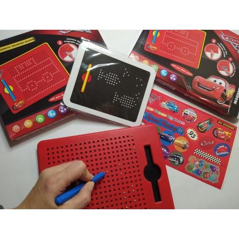 Магнитный планшет Тачки (380-04)