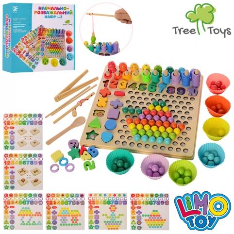 Деревянная игрушка Мозаика MD 2514 Limo Toy
