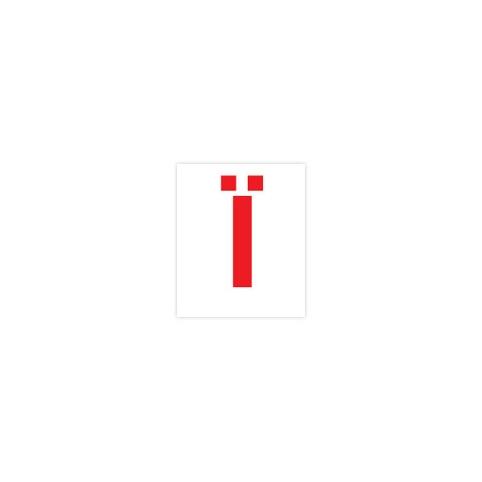 Комплект карточек домана МИНИ Буквы (укр. язык) 1