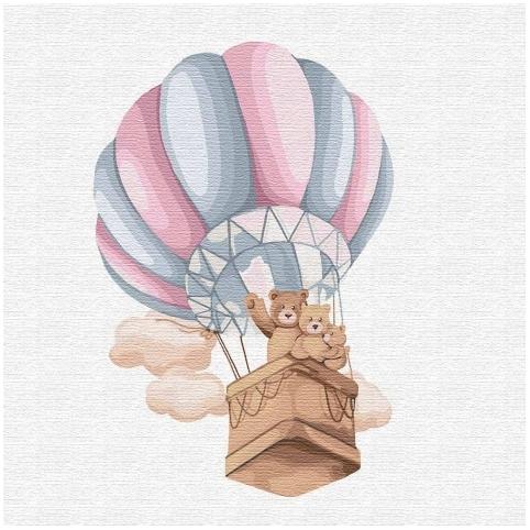 Картина за номерами Сімейний політ (КНО2351)