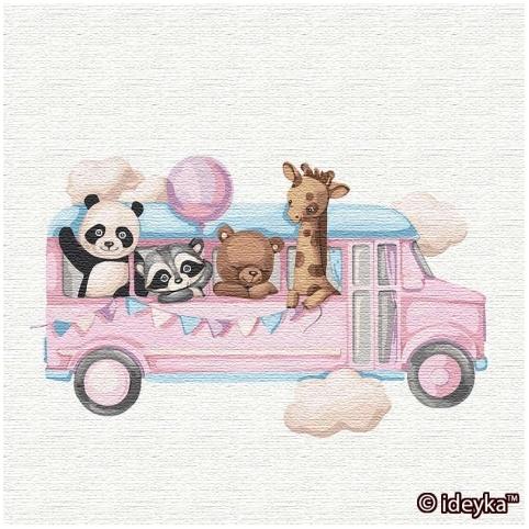 Картина по номерам - Веселий автобус (КНО2356)