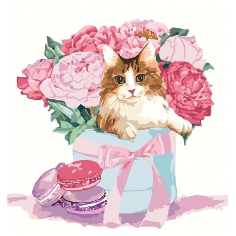 Картина по номерам - Подарунок з родзинкою (КНО4173)